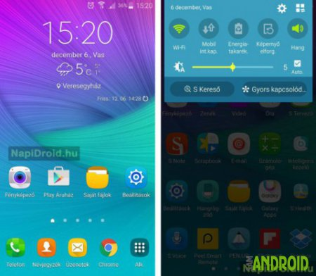 Samsung Galaxy Note 4 обновляется до Android 6.0 Marshmallow